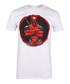 Men's Deadpool white T-shirt  Sale - marvel Sale