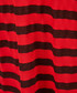 The Brittan red ripped stripe T-shirt Sale - current elliot Sale