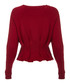 The Pintucked red jumper Sale - current elliot Sale