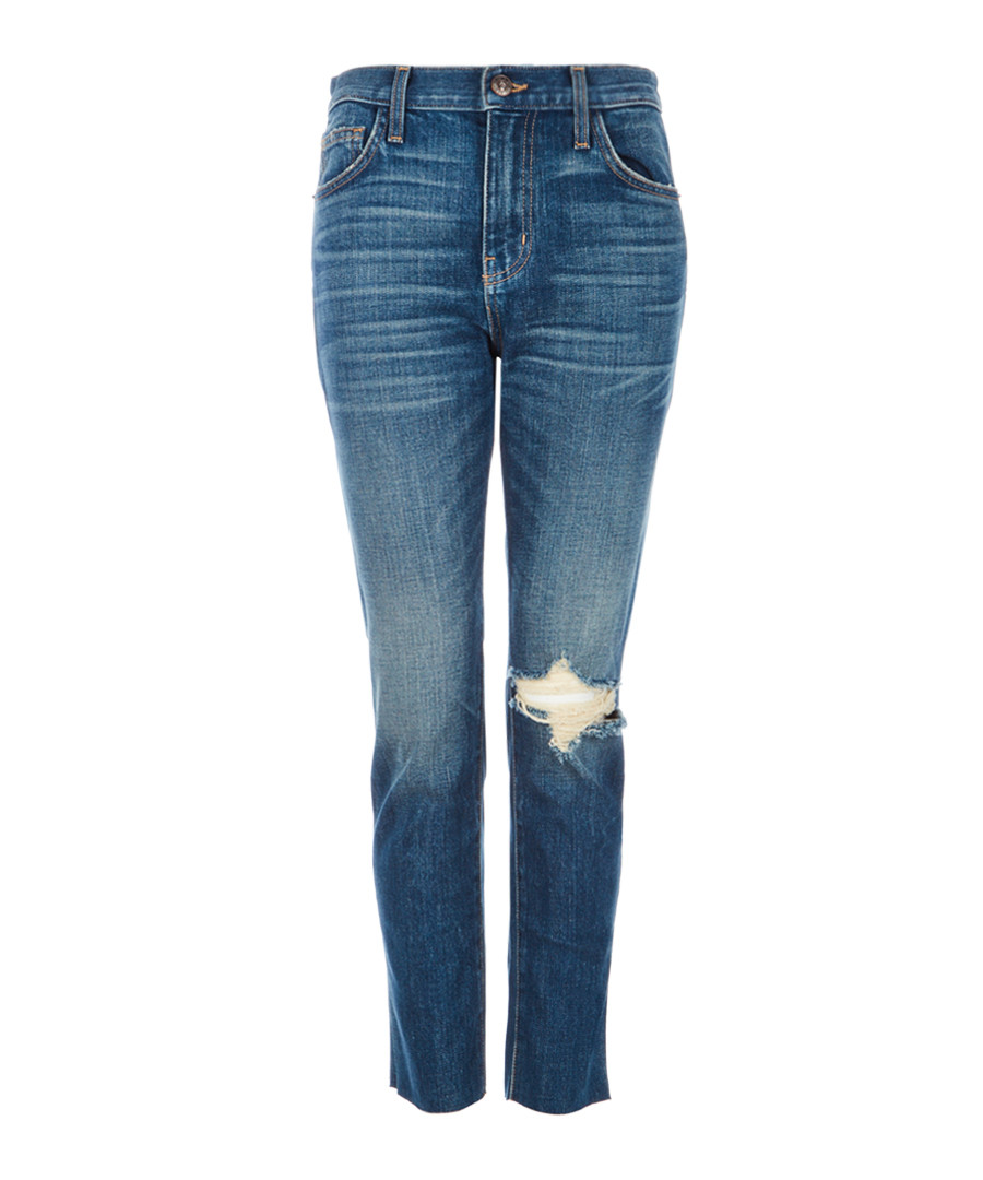 The Vintage Cropped blue jeans Sale - Current Elliott