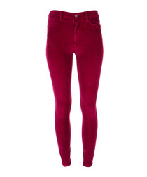 The High Waist Stiletto pink jeans