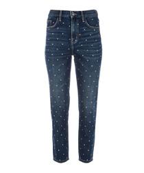 The Vintage Cropped dark jeans