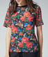 Lupita floral woven tee Sale - warehouse Sale