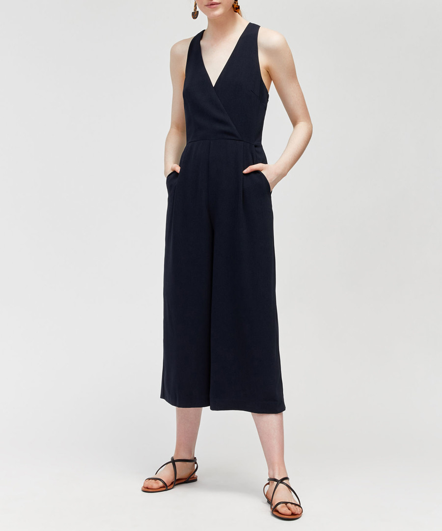 Midnight wide-leg jumpsuit Sale - warehouse