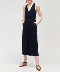 Midnight wide-leg jumpsuit