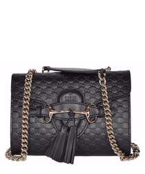 Guccissima Small Emily leather crossbody