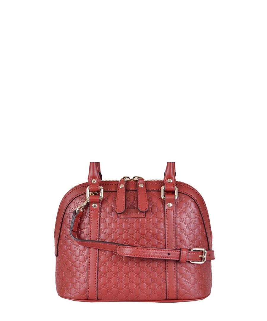 Guccissima Mini-dome leather grab bag Sale - gucci