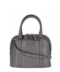 Guccissima Mini-dome leather grab bag