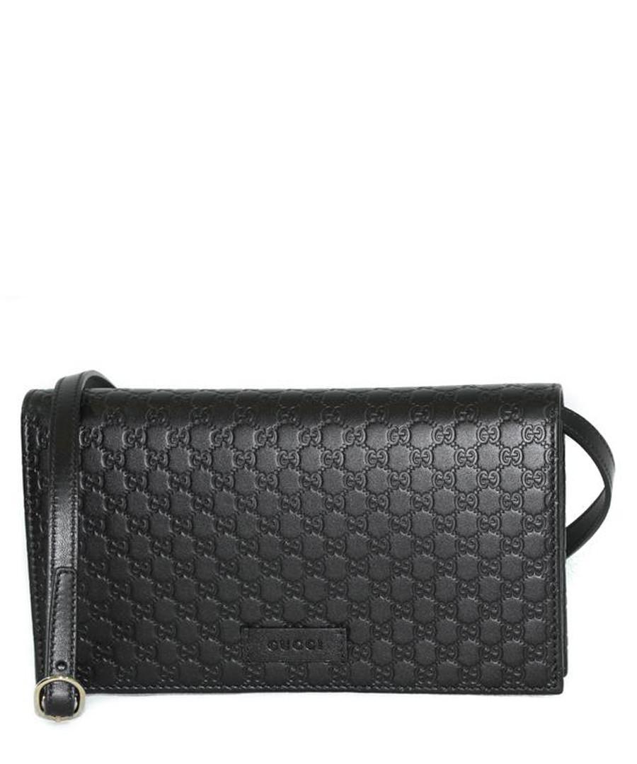 Guccissima black leather crossbody bag Sale - gucci
