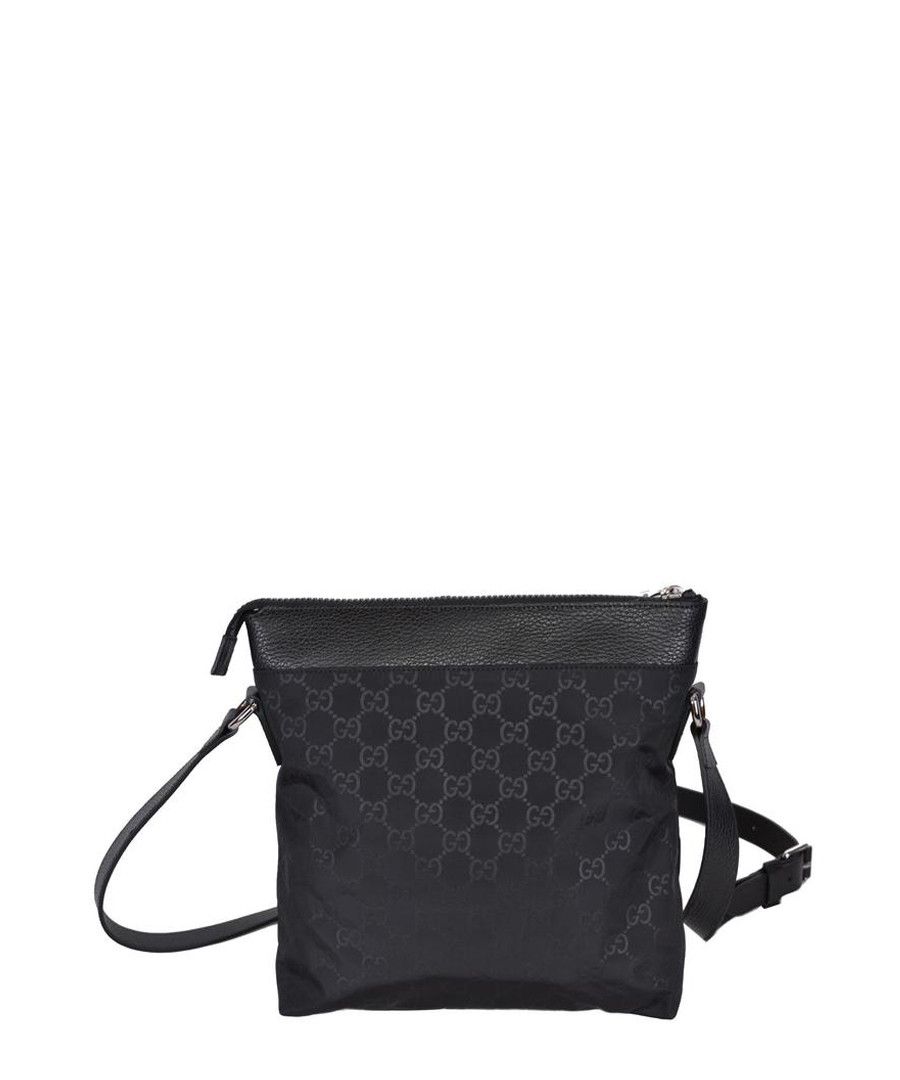 Black canvas small messenger bag Sale - gucci