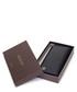 Black leather textured fold purse Sale - gucci Sale