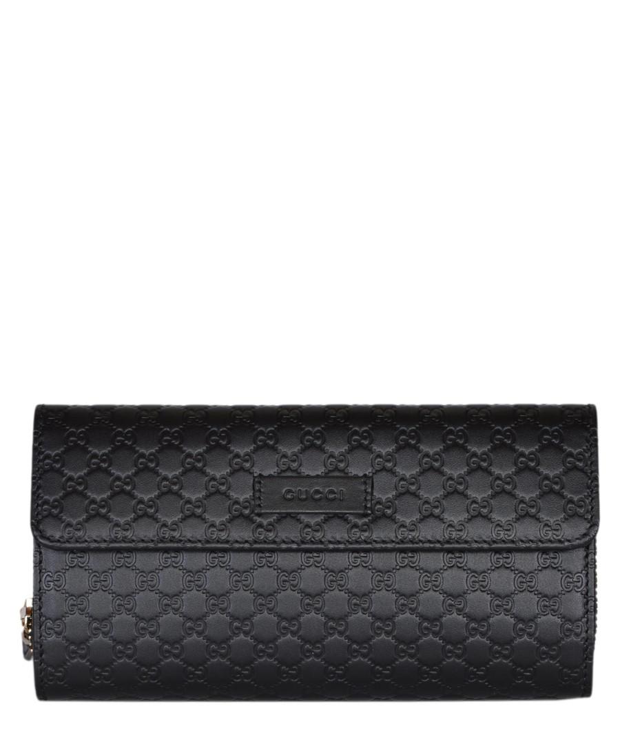 Guccissima black leather purse Sale - gucci