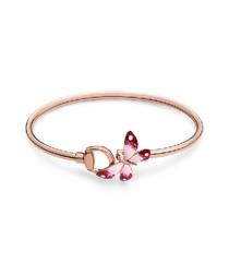 18k rose gold-plated bracelet