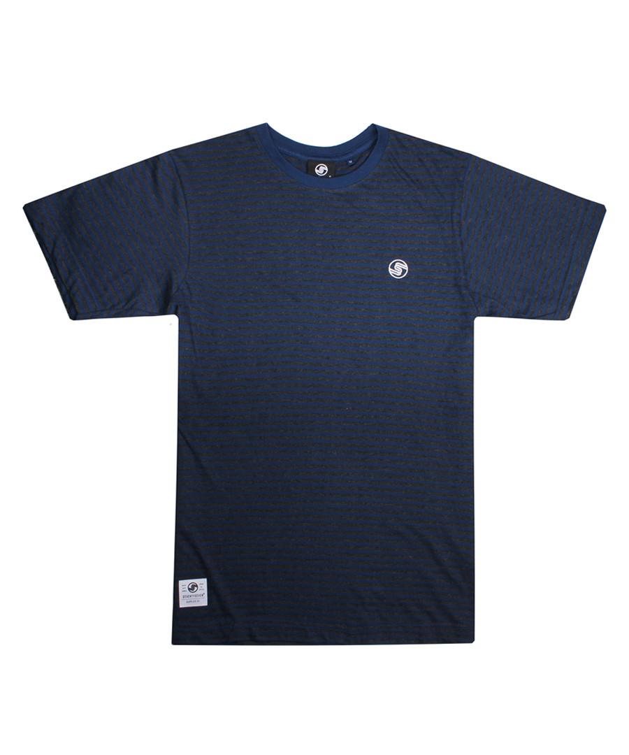 Hawtin navy pure cotton T-shirt Sale - seventy seven