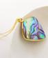 14k gold-plated abalone shell necklace Sale - fleur envy gaia Sale