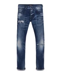 Ralston dark wash cotton slim jeans