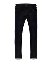 Tye midnight cotton slim carrot jeans