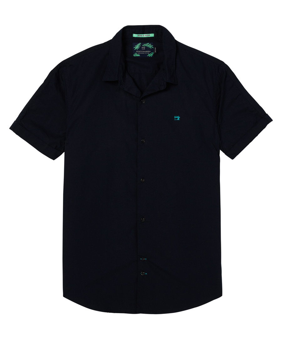 Midnight pure cotton shirt Sale - scotch & soda
