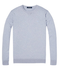 Pewter pure cotton jumper