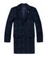 Blue check wool blend 3-button coat Sale - Scotch & Soda Sale