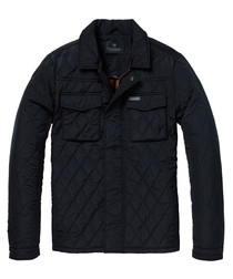 Midnight quilted lightweight jacket