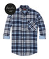 Blue check pure cotton shirt Sale - Scotch & Soda Sale