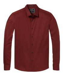 Mahogany cotton shirt