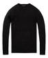 Black melange wool blend jumper Sale - scotch & soda Sale