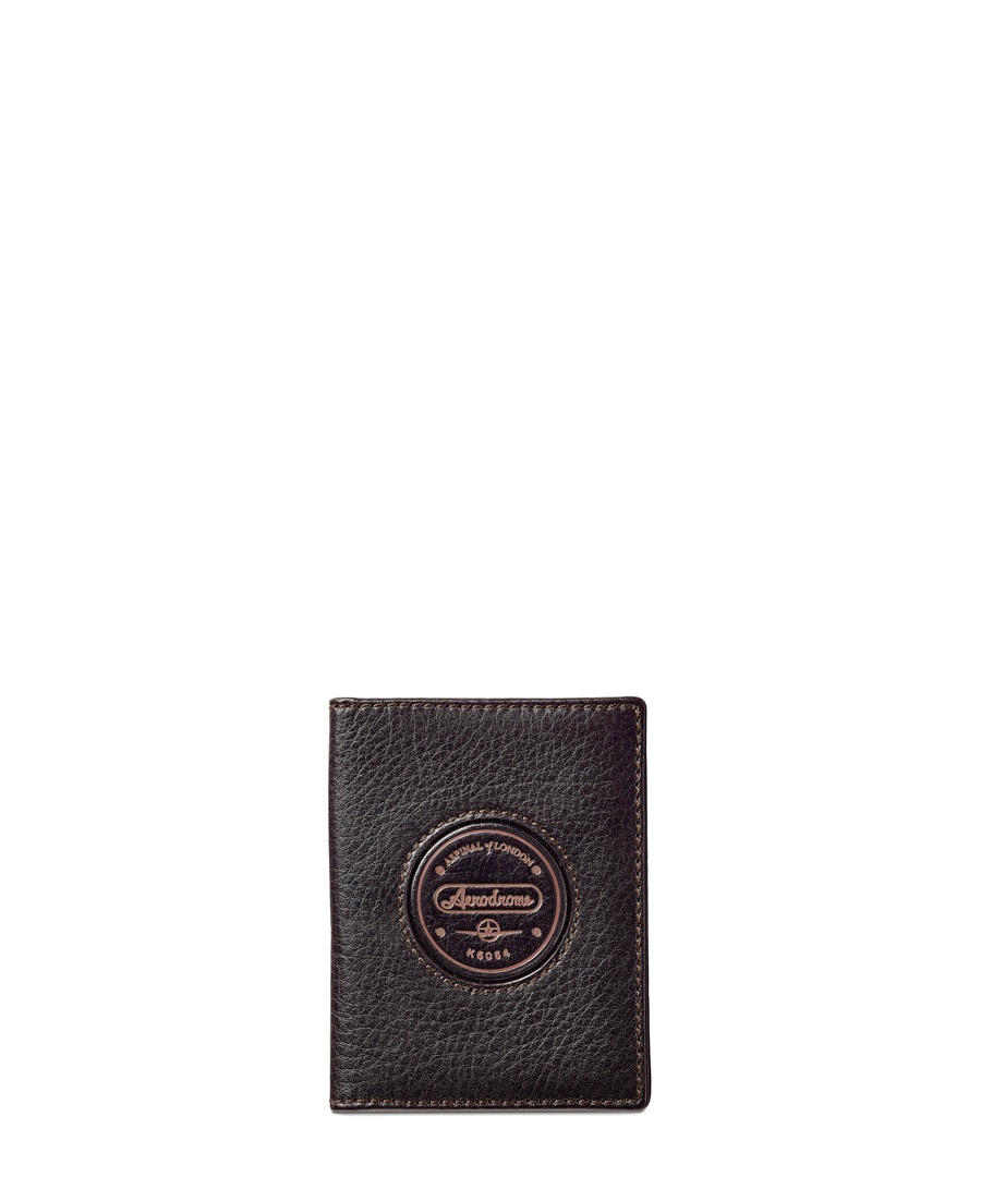 Aerodrome brown leather ID & Oyster case Sale - Aspinal Of London