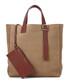 Editors A tan nubuck leather tote Sale - Aspinal of London Sale