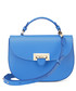 Forget Me Not blue leather saddle bag Sale - Aspinal of London Sale