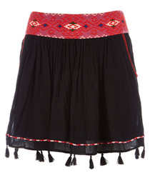 Posey caviar pure cotton tassel skirt