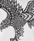 white pure cotton tribal eagle T-shirt Sale - roberto cavalli Sale