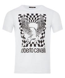 white pure cotton chimera T-shirt