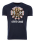navy pure cotton wheel logo T-shirt Sale - roberto cavalli Sale