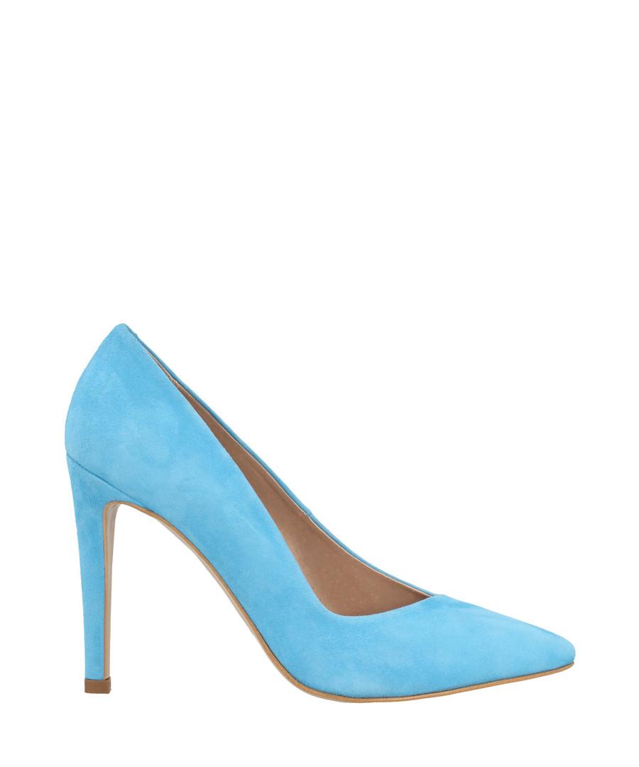 Sky blue suede court heels Sale - roberto botella