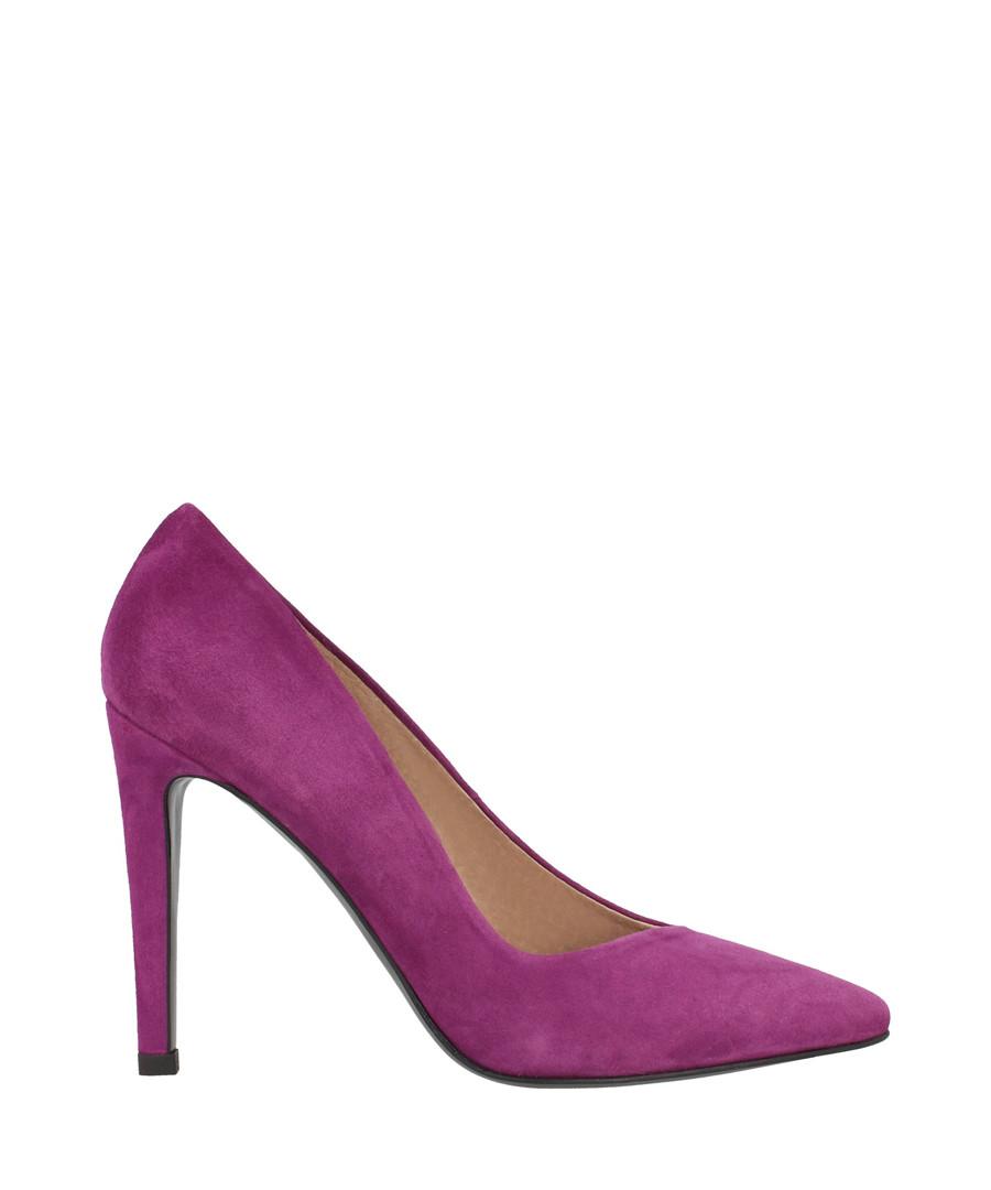 Magenta suede court heels Sale - roberto botella