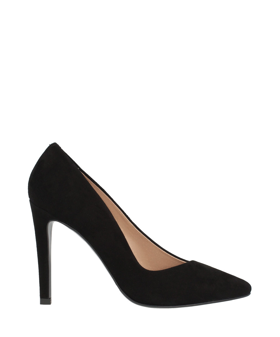 Black suede court heels Sale - roberto botella