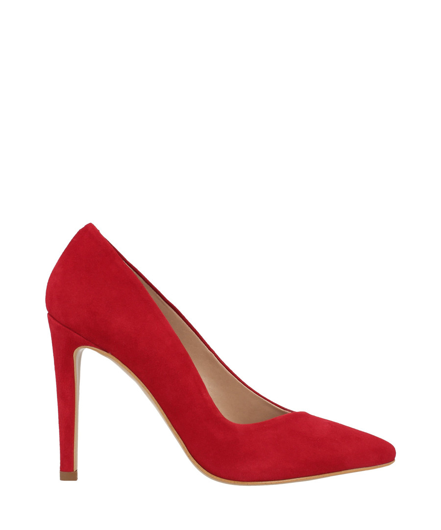 Crimson suede court heels Sale - roberto botella