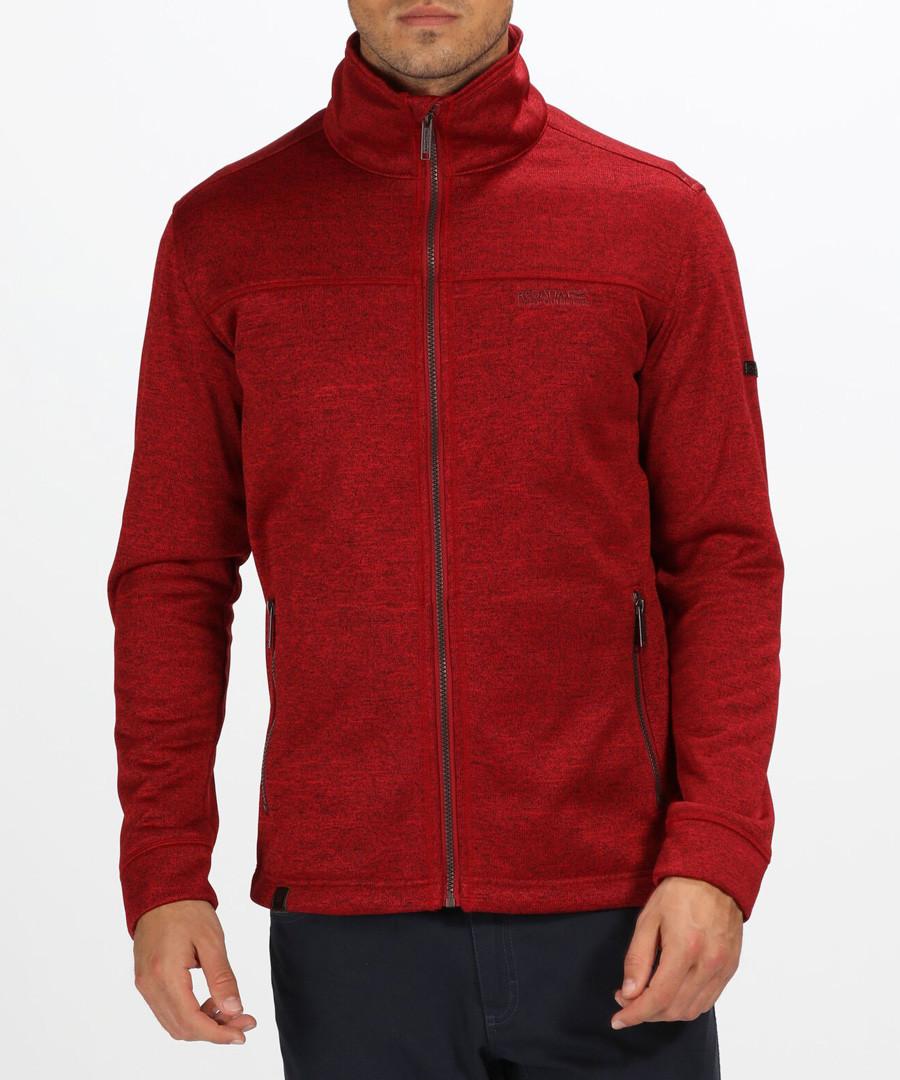 Deep red melange high neck jacket Sale - regatta