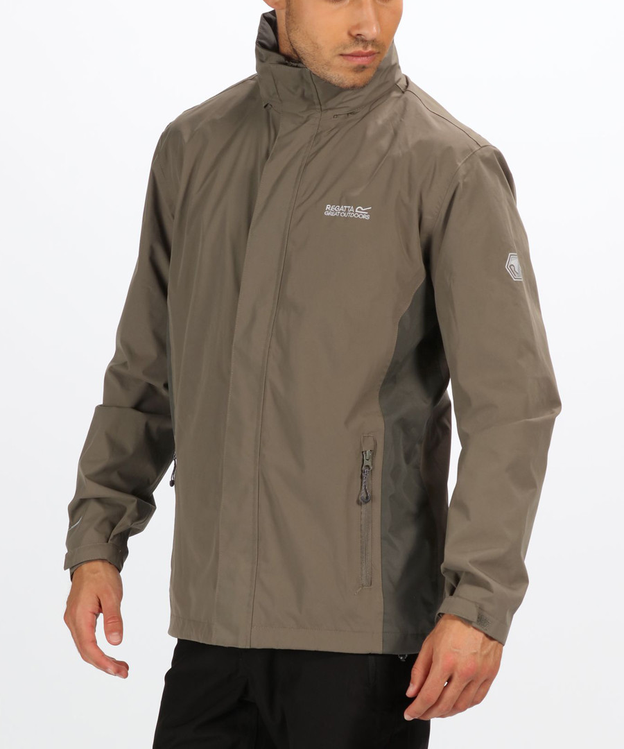Taupe waterproof shell coat Sale - regatta