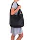 Black leather slouch shoulder bag Sale - anna morellini Sale