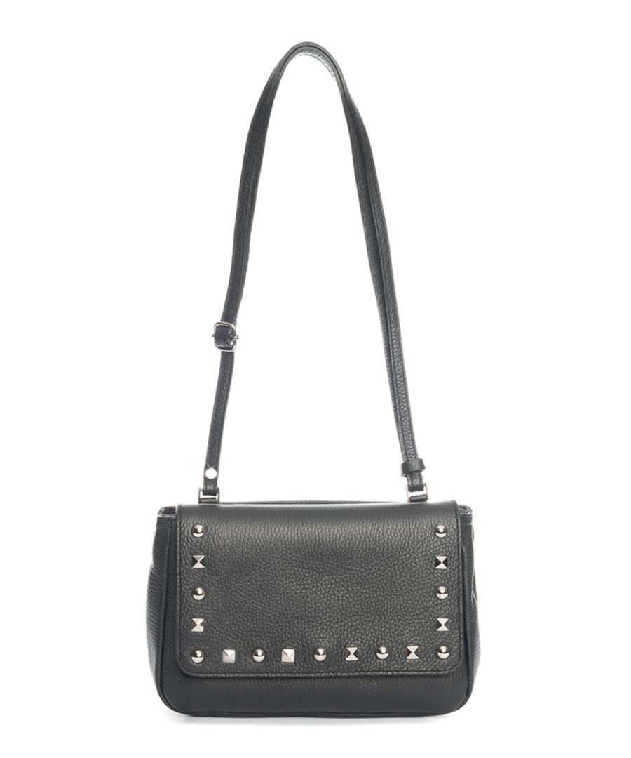 Black leather studded crossbody Sale - pia sassi