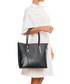 Black smooth leather shopper Sale - lia biassoni Sale