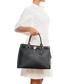 Black leather padlock shopper Sale - lia biassoni Sale