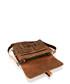 Tan vintage style leather satchel Sale - woodland leather Sale