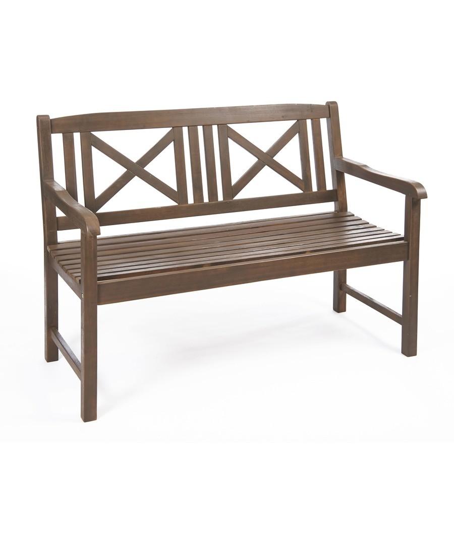 Saigon Hardwood Bench Kinver Grey Sale - Greenhurst