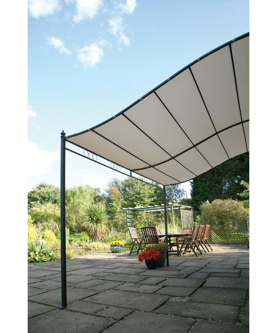 2.5m Wall Mounted Gazebo Sale - Greenhurst