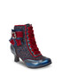 Duchess blue & red crystal brooch heels Sale - joe browns Sale