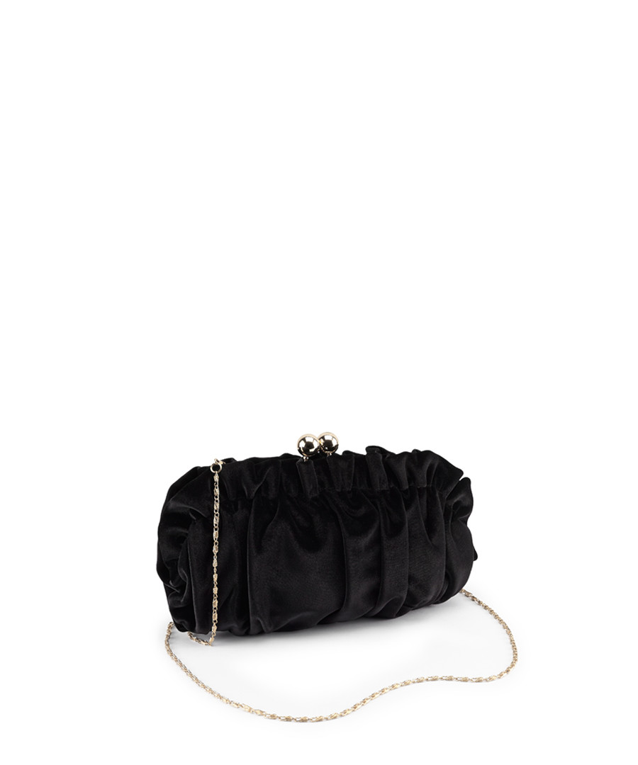 Jester black ruched clasp crossbody Sale - joe browns